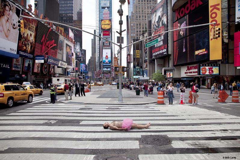 Ballerina Times Square New York City_mini