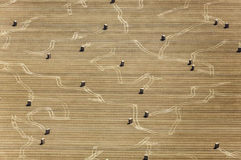 Sailing Hay Bales