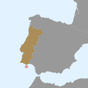south coast of Portugal