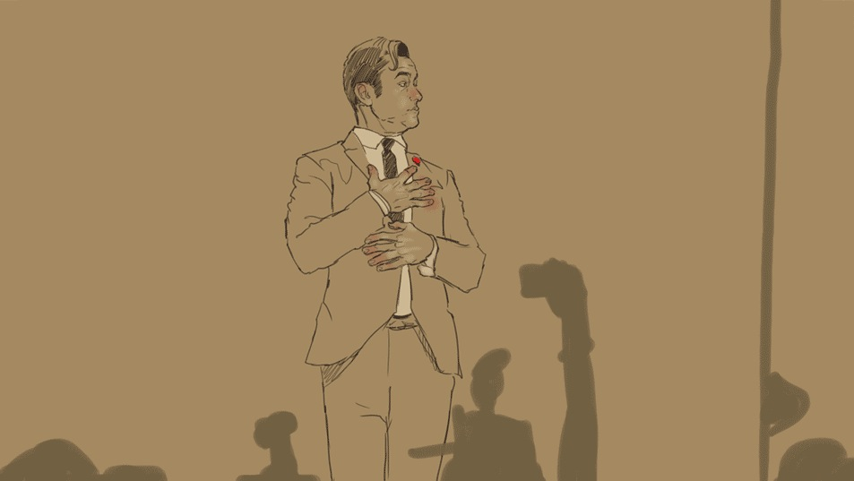 Joseph Gordon Levitt Rotoscope Animation